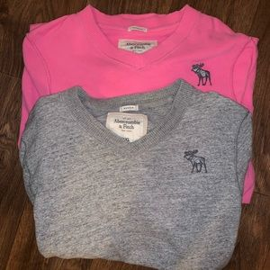 Bundle of 2 Abercrombie and finch sweaters